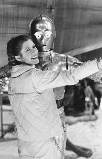 Happy Birthday Carrie Fisher. You will be forever missed