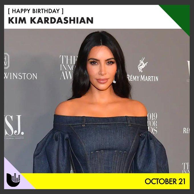 Join us in wishing a happy birthday to Kim Kardashian.