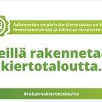 """Image for the Tweet beginning: """"Kiertotalous kannattaa!"""" Muistuttaa @SATOkoti kiertotalousvalmennus-hankkeen"""