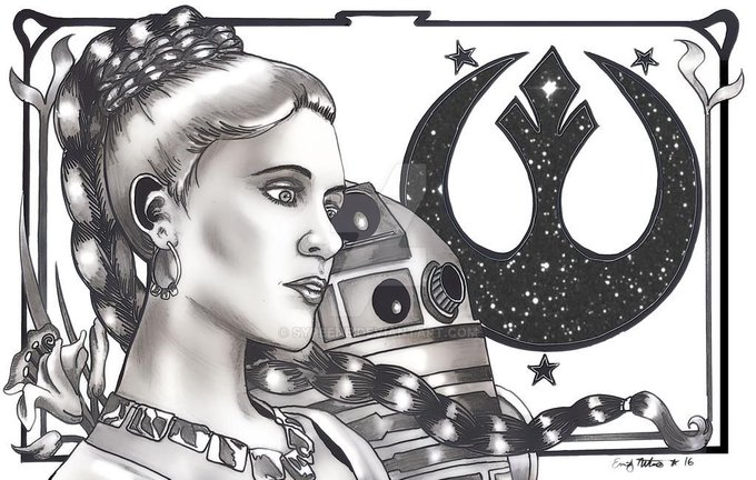 Happy Birthday, Carrie Fisher.... we miss you! The Rebellion carries on in your name.