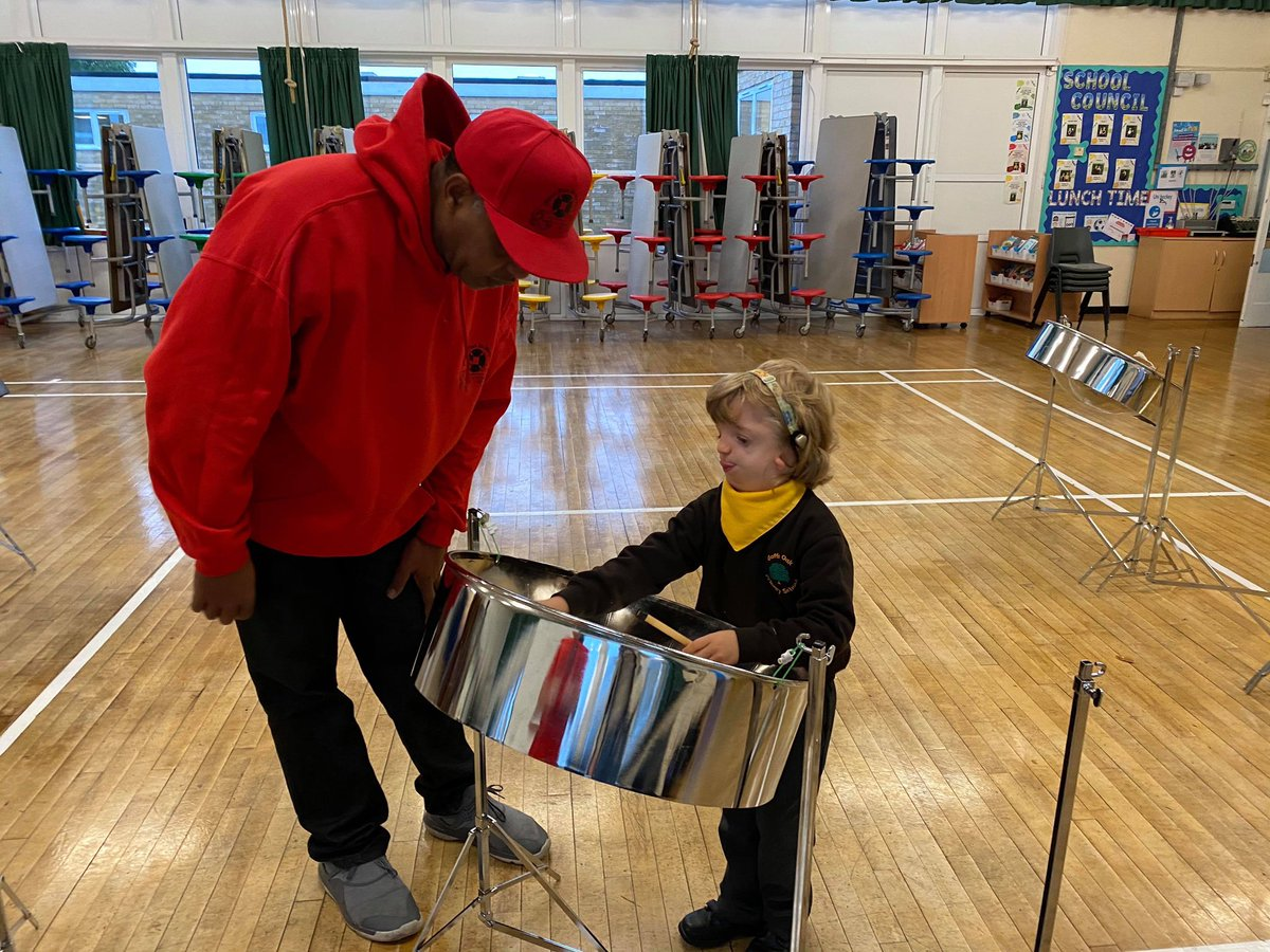 Ryan's not even 5yrs old yet, he already plays drums and piano but has wanted to play Steel Pan since he saw us at a local event, today he got to play a was very happy and looking forward to more lessons 🎶 #SteelPan #BlackHistoryMonth #YouthMusic #MusicForYouth #MusicLessons https://t.co/8vIM6jzzbK