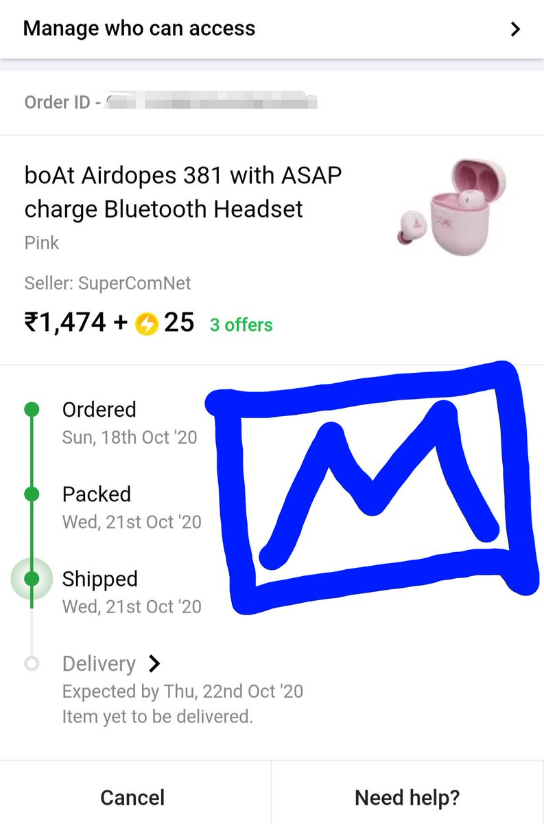 @Flipkart Ordered my first TWS in #TBBD sale. Amazing offer @1499, currently now it's 2499. Great deal. #BigBillionLoot #TheBigBillionDays #TheBigBillionDaysLive #TheBigBillionDaysSpecials