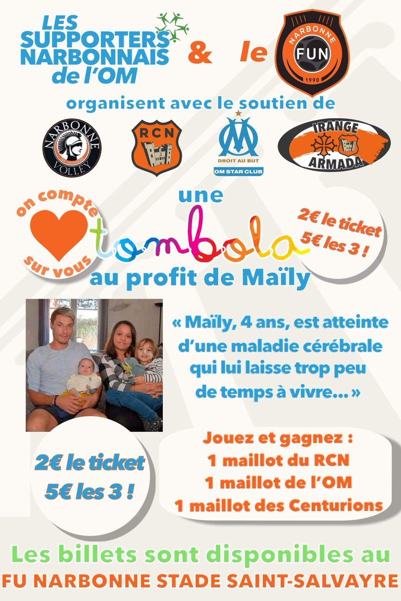 Le @FUNarbonne , le @narbonnevolley et le @RCNarbonnais se mobilisent pour venir...