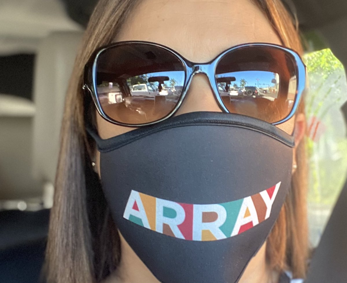 Feeling the energy wearing the #ArrayNow face mask today! It'll be a great day! #WearAMask https://t.co/3Oovu4SUZJ
