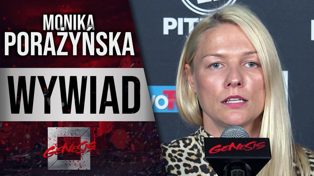 Monika Porażyńska przed debiutem na Genesis: Ta walka to dla mnie sportowe show [WYWIAD] https://t.co/7mtR2j7Zfy https://t.co/6jiGg6KFub