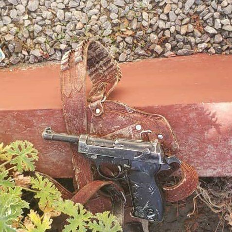 #Afghanistan: A failed assassination of an NDS agent in Bagrami near Kabul lead to the capture of a Walther P4/P1.  via @RisboLensky https://t.co/zKPmn86uL9