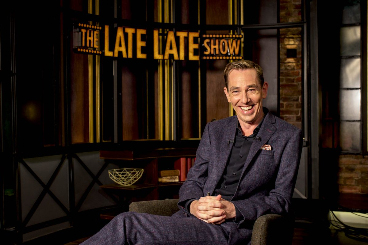Ryan Tubridy reveals plans to highlight local businesses on The Late Late Show during lockdown https://t.co/Q4rMBqoWDz https://t.co/AlSAipSW5k