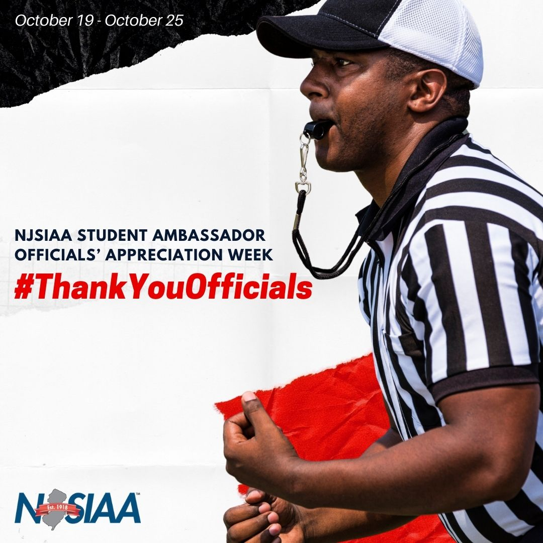 Looking for a special way to celebrate the efforts of your game officials? How about a certificate of appreciation or a thank you card signed by the entire team? #ThankYouOfficials