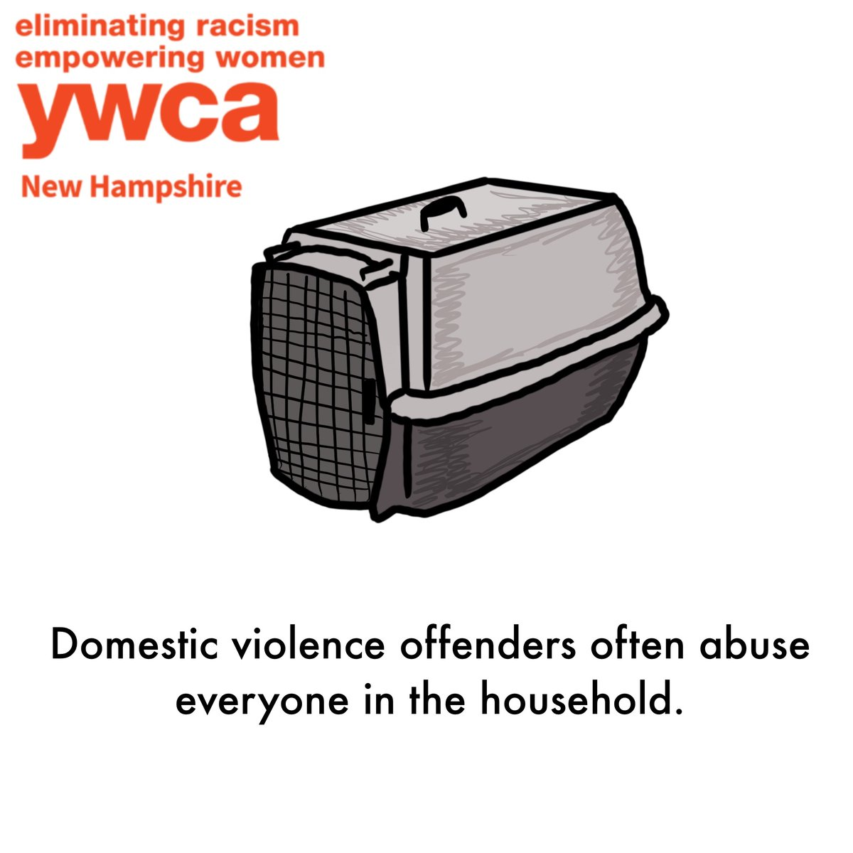 Did you know that there are resources for survivors of #DV that need to flee with their pets, such as animal rescues and pet foster homes? Here at the YWCA, we understand that family members and pets alike are especially important to survivors when fleeing. #DVAM2020 https://t.co/HU2BV9Rw7w