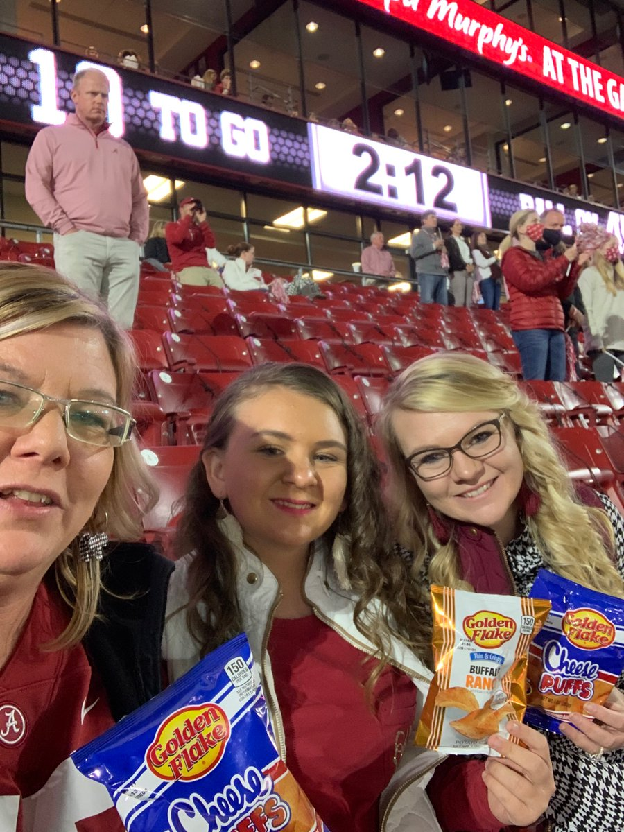 Love this picture from Marsha Wilson, who won our last ticket giveaway to the Alabama vs Georgia game! It's not too late to enter to win tickets to the Alabama vs Mississippi State game on October 31st! Follow the link to enter!  https://t.co/Z1WcrBn5Yn https://t.co/UdjZNcVLbo