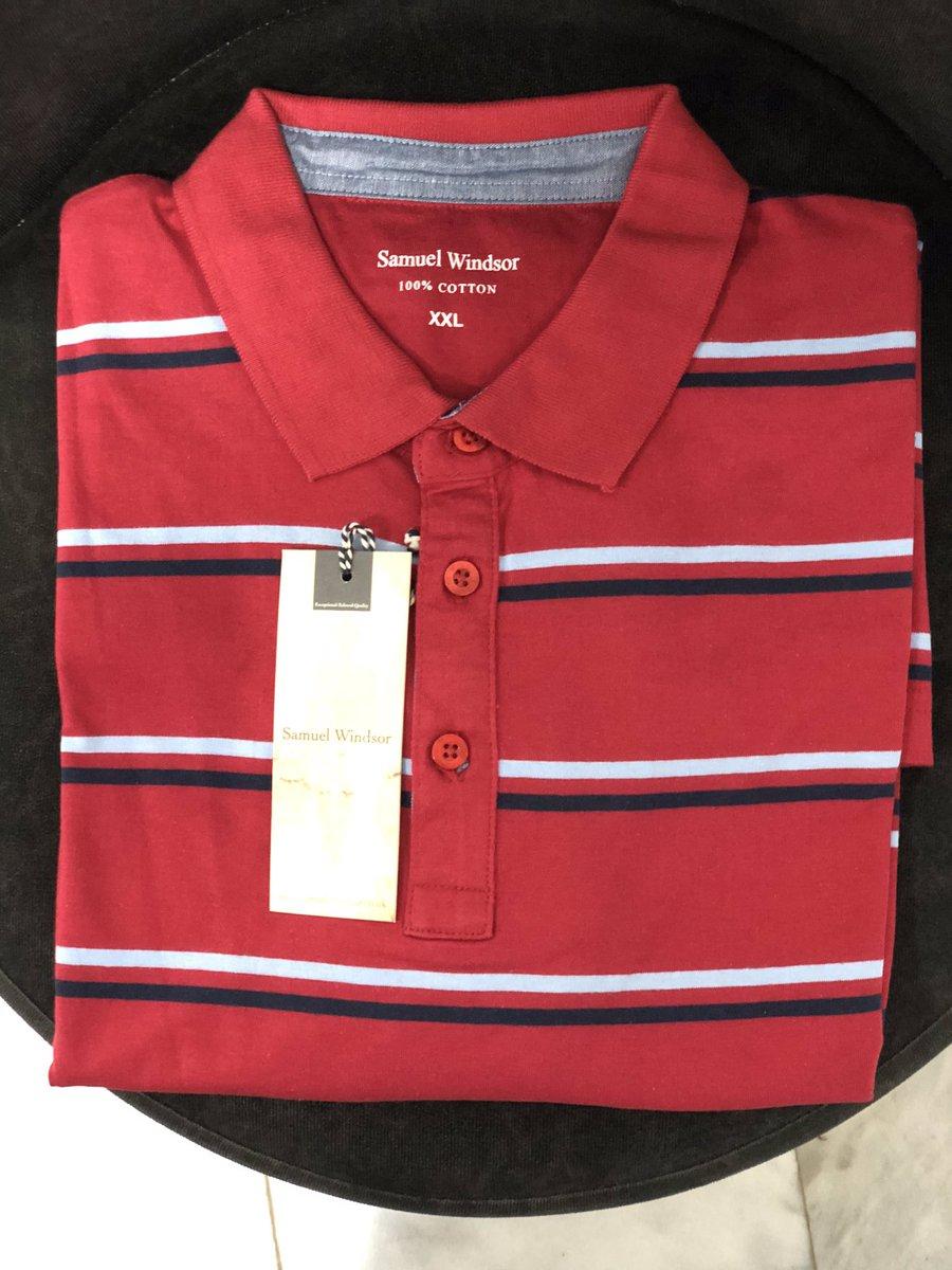 Samuel Windsor Men's Polo Shirts available @houseofkingsgh  Call us on 0574286764  #AffordablePoloShirts #Original #Quality #Premium #Casual #hok #Ghana #Accra https://t.co/fFq0zJkoEU