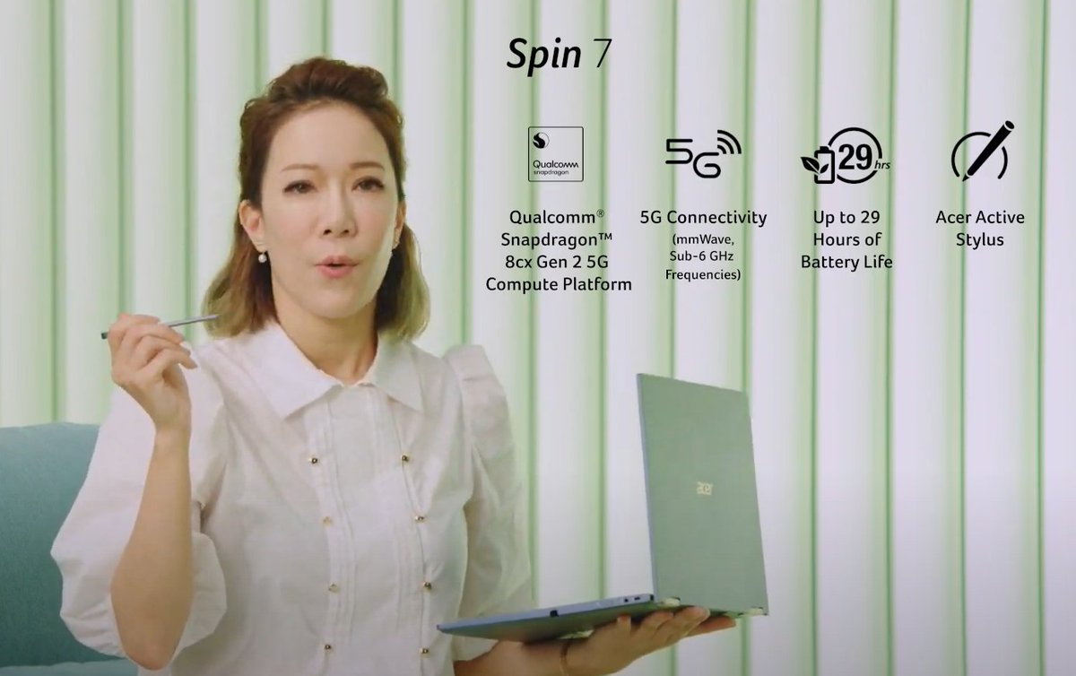 New Acer Spin 7 looks interesting. Look forward to getting my hands on that. https://t.co/GnKUXcOIPv https://t.co/pZDzFTQSOP