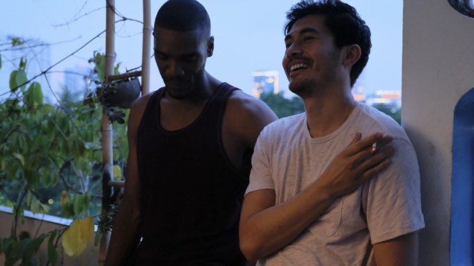 ".@henrygolding stars in #Monsoon, playing a British Vietnamese man who returns to his birth country after 30 years 💫  ""A thoughtful, deeply felt movie of great sweetness, unfolding at an unhurried pace"" - @guardianfilm   On tonight at 7:30, book here👇 https://t.co/9pGIFkSVDz https://t.co/erVwbbCTte"