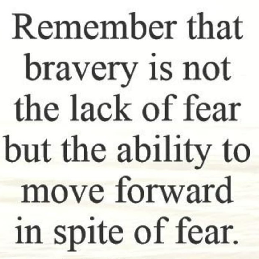 Let's be brave today.  Good morning everyone! https://t.co/K7whgs4uwk
