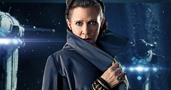 No one\s ever really gone. Happy birthday to the late, great princess and general, Carrie Fisher.