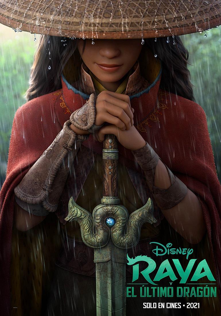Raya y El Último Dragón es la película que nos presentará a la nueva princesa Disney, y acaba de de estrenar tráiler.