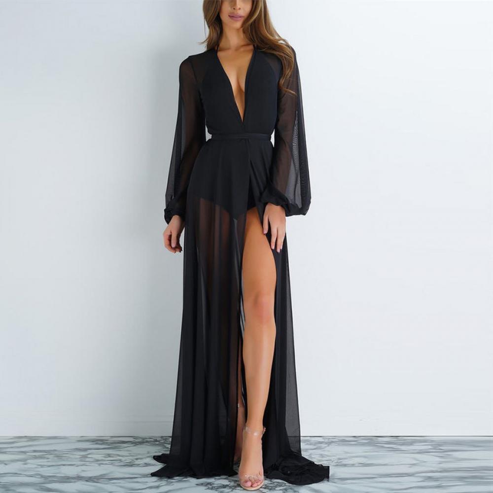 #street #casual Women long Cover Up Chiffon see-through Bikini https://t.co/dc1Xp84Tvc https://t.co/9cO5DYKkPN