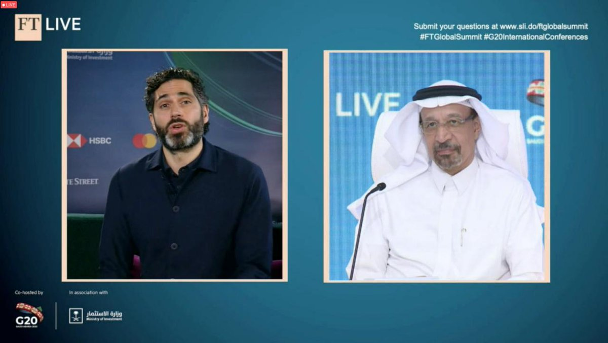 """How has #SaudiArabia adjusted its investment promotion strategy to ever-evolving market circumstances? """"By empowering our most important resource which is ever renewable: our youth. They are in the driving seat today of Vision 2030.""""  #MISA HE @Khalid_AlFalih at #FTGlobalSummit https://t.co/CmXJOMDfLs"""