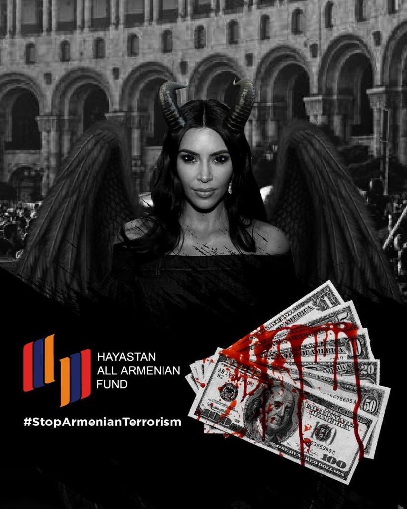 You are celebrating your Birthday while mother of innocent babies are crying who you sponsored to kill #HappyBirthdayTerrorist #KardashiansSupportTerrorism #StopSupportingTerroristArmenia https://t.co/bV6fltYL9j