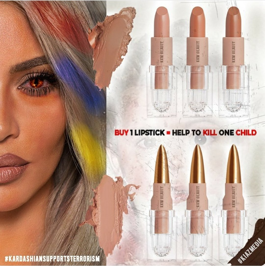 Every #KKWBeauty product that you buy is supporting terroristic,separatist state so called #Artsakh.#checkyourfacts and #dontbelieveArmenia #HappyBirthdayTerrorist #KardashiansSupportTerrorism https://t.co/IpZs61tyAw