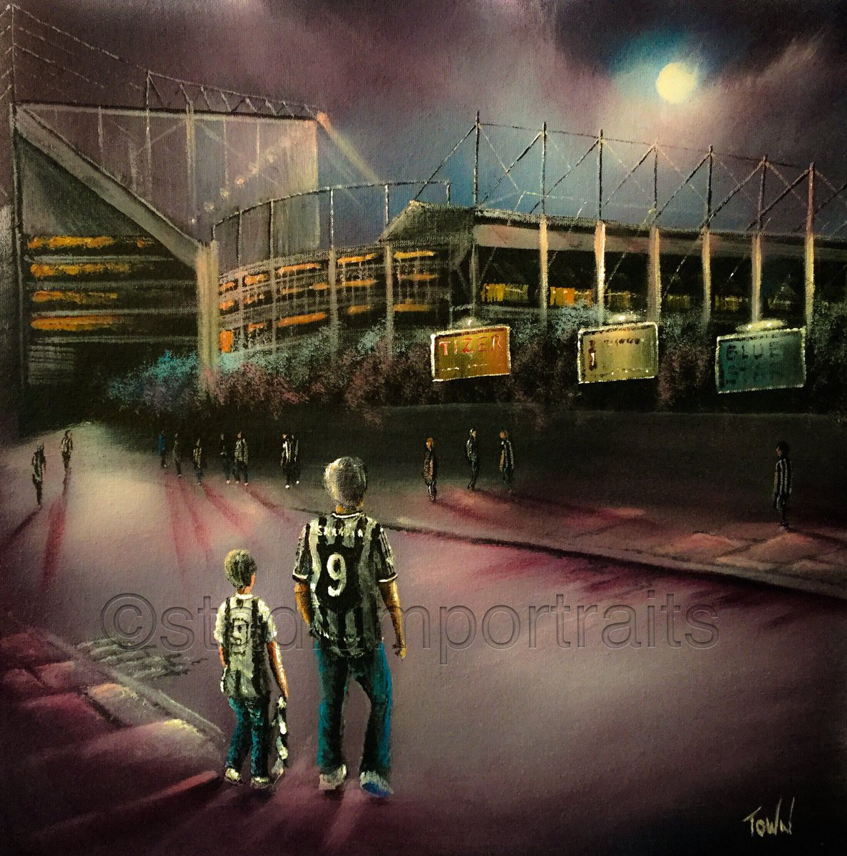 Christmas is getting nearer 🎄 😊for all your sporting gift ideas - box canvas, prints, jigsaws or contact me to discuss your own commission - follow the link and find your club at https://t.co/5ZJ2VCSObd Pls RT #NewcastleUnited #NEWCASTLE @ChronicleNUFC @NUFC #nufc https://t.co/EwakHqgfiZ