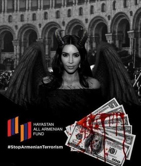 #KardashiansSupportTerrorism #HappyBirthdayTerrorist #HappyBirthdayKimKardashian #KarabakhIsAserbaijan #PrayForGanja #ChildrensRights #BabyKillerArmenia #StopArmenianAgression #StopArmenianTerror #StopArmenianOccupation #ArmeniaKillsCivilians #DontBelieveArmenia https://t.co/rHsyLb7jTF