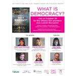 Image for the Tweet beginning: One week more! #WhatIsDemocracy indeed?