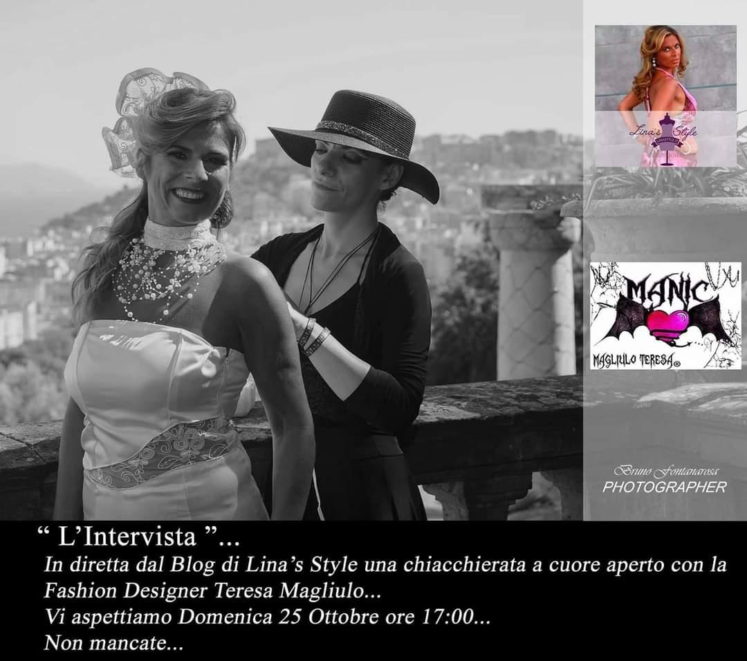 https://t.co/ZZpGjKyXNJ Official Blog  In diretta dal Blog di Lina's Style una chiacchierata a cuore aperto con la stilista Teresa Magliulo Stylist. Vi aspettiamo Domenica #25ottobre ore 17 Non mancate! Buongiorno amici #familyblog  #fashionblogger #linastyle #style #influencer https://t.co/LRI75UDlSf