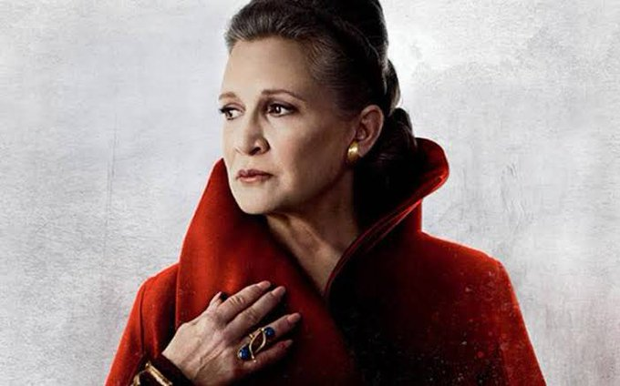 Happy Birthday to the one and only Carrie Fisher. Rest In Peace.