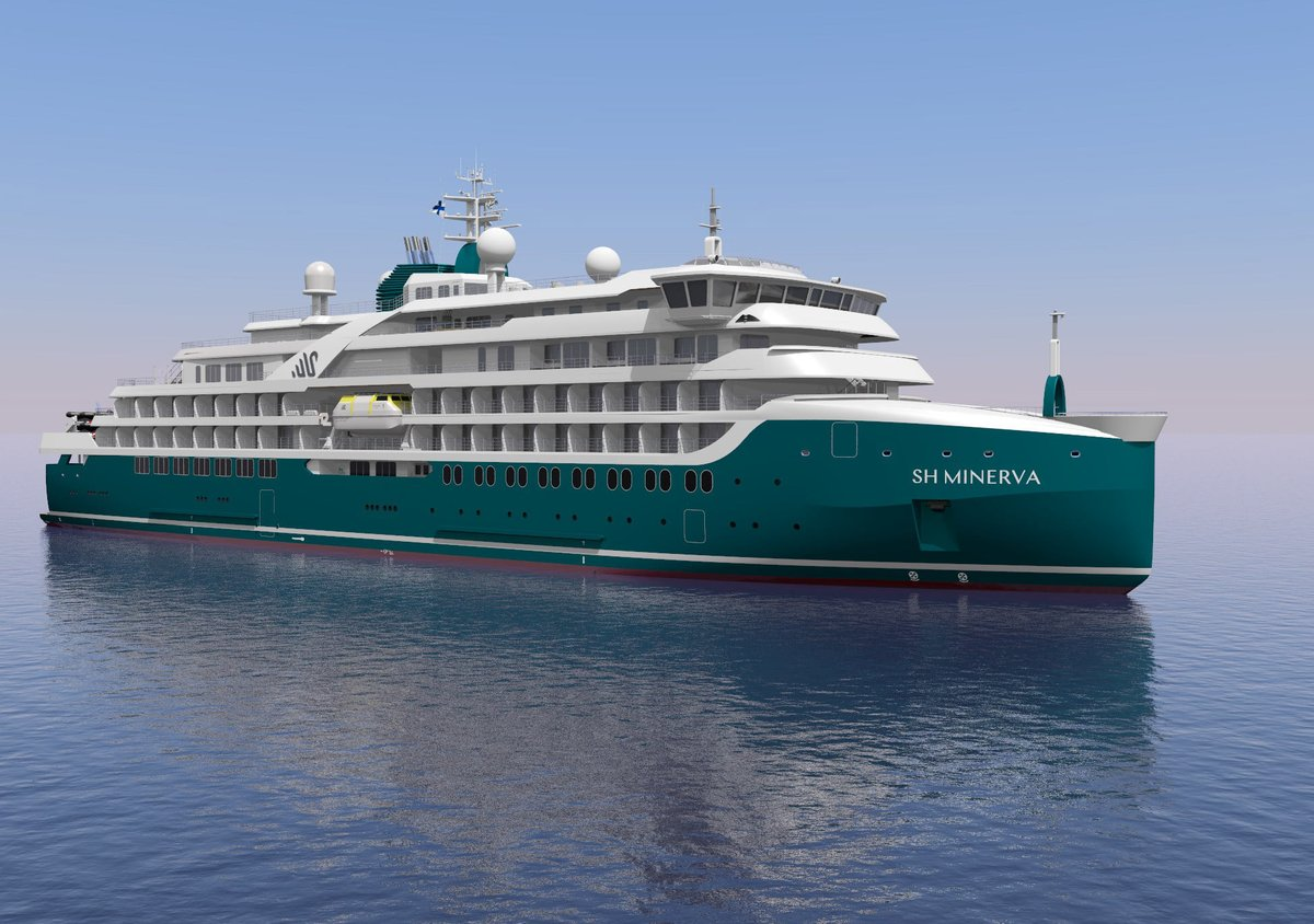 Swan Hellenic has ordered a third Vega-class expedition cruise vessel. Larger than its two sister ships, the Vega 3 will be a hybrid-powered vessel with an ice-strengthened hull and a capacity of 192 passengers in 96 cabins and suites.  #CruiseNews   https://t.co/4JVWVOHhpH https://t.co/YAPCMVd7n8