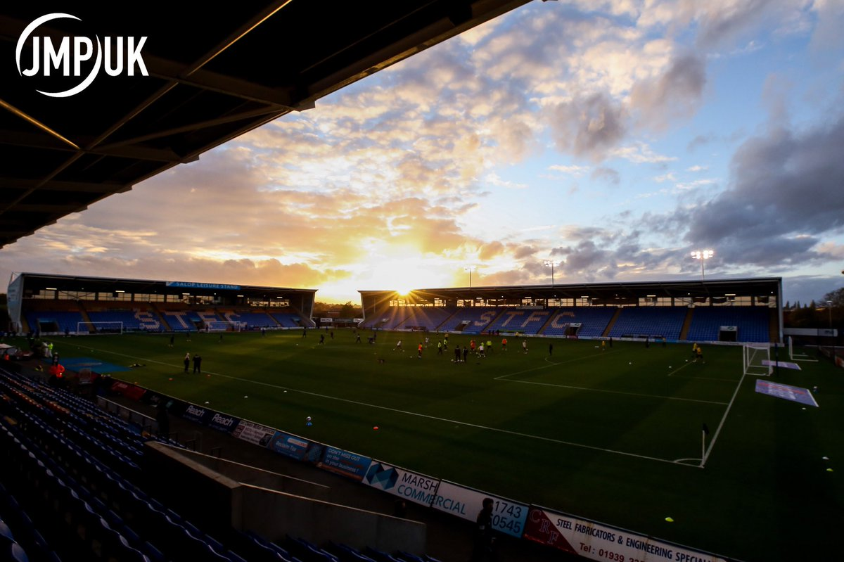 A few pics from last nights game between #ShrewsburyTown & #BristolRovers as The Gas took 3 points back to #Bristol with them (Via @jmp_uk)   #BRFC #UTG #Rovers #Shrewsbury #STFC #Salop #Football #Soccer #SportsPhotography #FootballPhotography #SoccerPhotography #SkyBetLeagueOne https://t.co/iD4dju7bQR