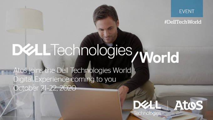 Dell Technologies World starts today. Visit the Atos booth to chat with our experts...