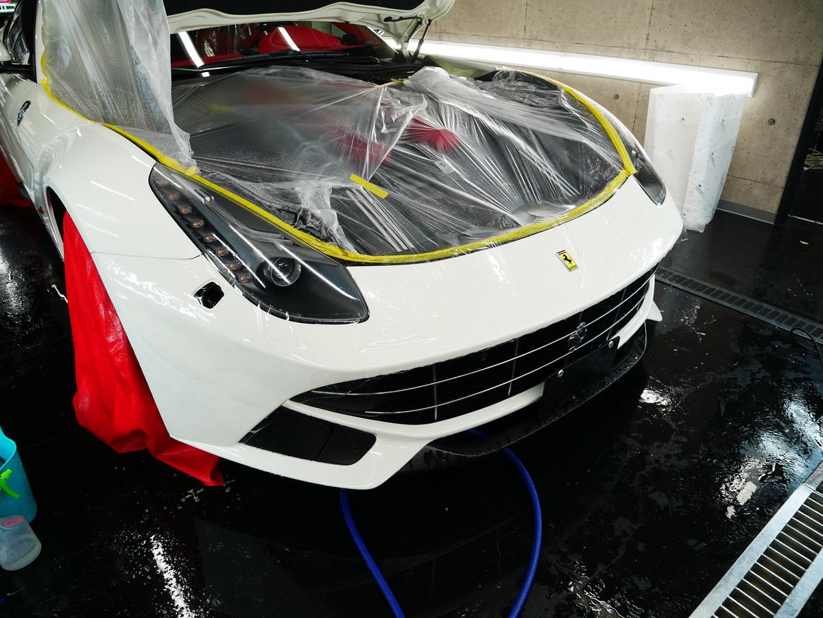 【ブログを更新しました】 [フェラーリ]  F12にペイントプロテクションフィルム施工(グロス)したお話をご紹介します。 https://t.co/PBQMK3giwr 是非ご覧ください。 #のらいも工房 #プロテクションフィルム  #Ferrari  #飛び石保護 #F12 https://t.co/FvNEfPg1y2