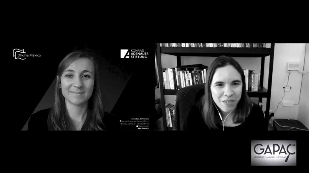 """🎙️ #Entrevista  Nuestra Representante Adjunta, @annminuskathrin habla sobre la importancia de la participación social y política, en el podcast """"Dando y dando. El mundo de la sociedad civil"""" de @GobAPAC.  👉🏼Ver 📺: https://t.co/uxMaK5vVKE   #másymejordemocracia #KASMéxico 🇩🇪🤝🇲🇽 https://t.co/yFkBMwP8HL"""