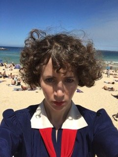 Here is a selfie taken at Bondi Beach to celebrate #Kajillionaire opening in theaters in Australia TODAY (which is Thursday October 22 there) @UniversalPicsAU https://t.co/6lzRcEjhIP