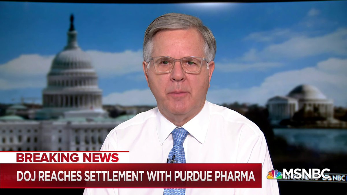 Image for the Tweet beginning: BREAKING: Purdue Pharma has reached