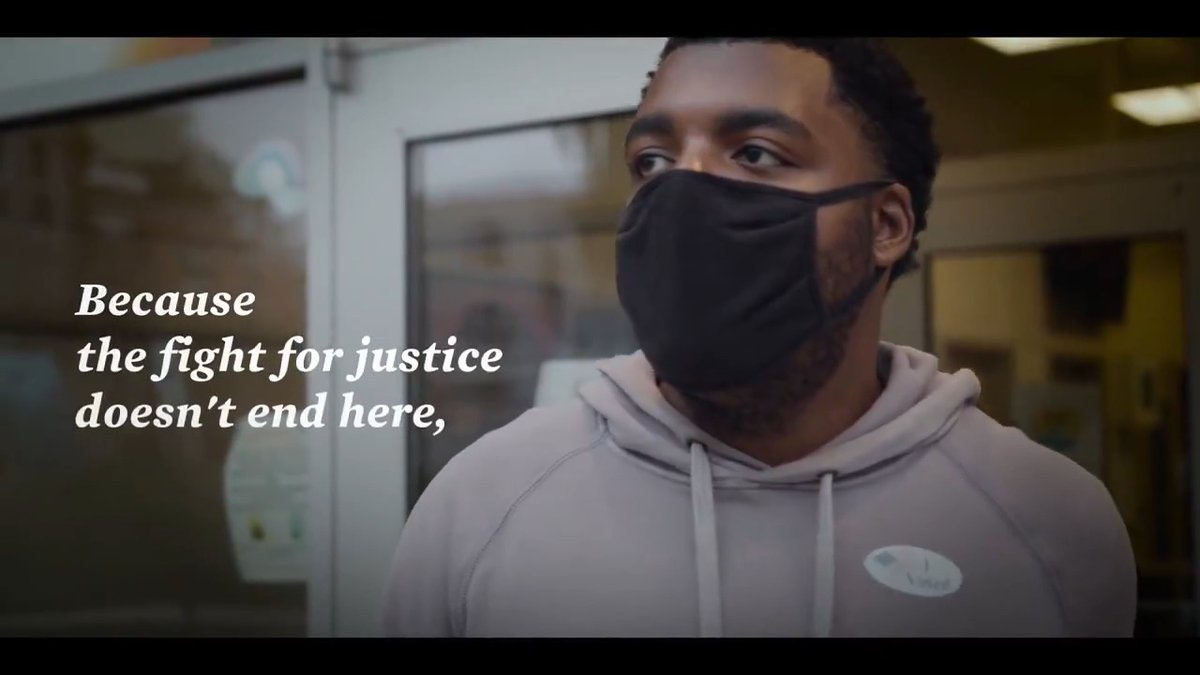 Justice is on the ballot. iwillvote.com