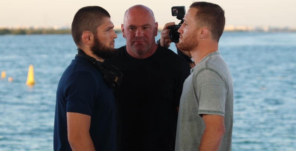 Nurmagomedov i Gaethje twarzą w twarz przed UFC 254 [WIDEO   https://t.co/fIu21vrowD https://t.co/yyan2Hz77u
