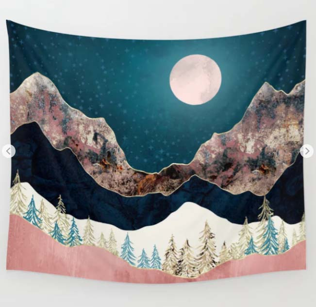 Pine Vista - #moon #fullmoon #design #creativity #illustrationartists #themoon #illustrationart #artist #inktober #graphicdesign #arts #niceatmosphere #ourplanetdaily #colorolove #abstractart #adventureart  - https://t.co/aWFM0V4HOG https://t.co/GNC9n5iyaS