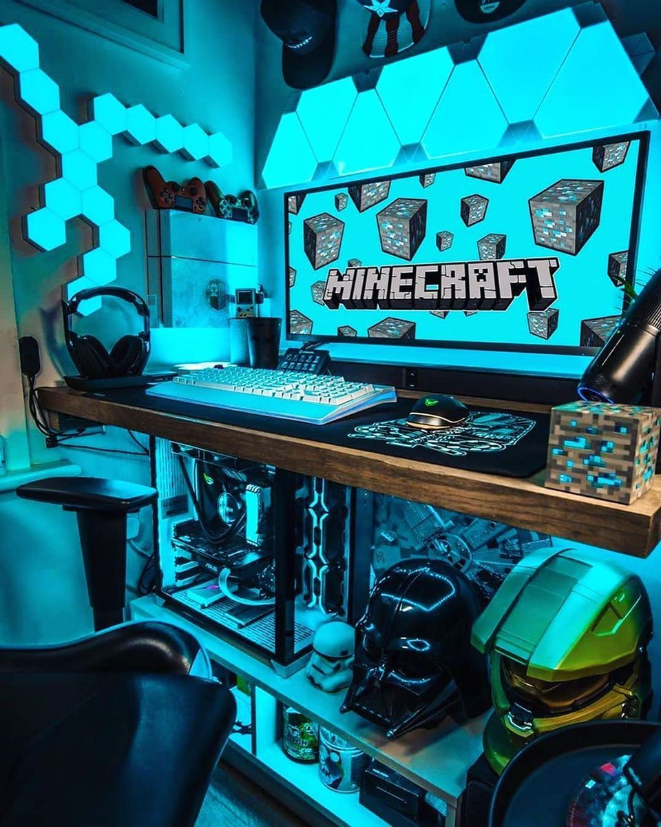 For Minecraft lovers #gamer #gaming #ps #game #playstation #games  #xbox #gamergirl #gamers #pc #streamer #nintendo   #follow #gamerlife #videogame #instagamer #gamingcommunity https://t.co/vMhS9ui3UK