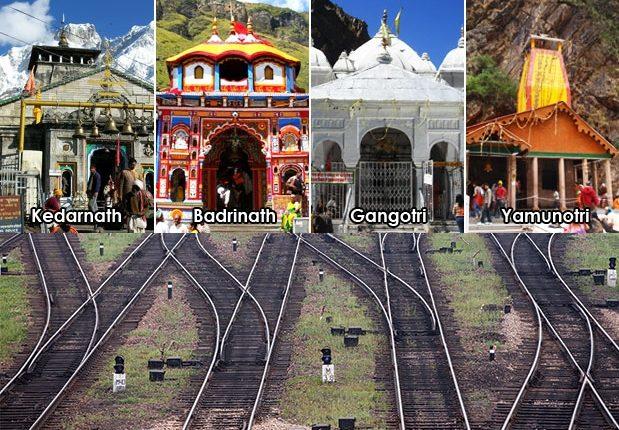 अभी तक की योजना के अनुसार बदरीनाथ में माणा तक, केदारनाथ में सोनप्रयाग, गंगोत्री में मनेरी और यमुनोत्री में बड़कोट तक रेल पहुंचाई जाएगी। #Badrinath #chardhamrailwayproject #ChardhamYatra #Gangotri #Kedarnath #Uttarakhand #Yamunotri https://t.co/3d59m7OmGX https://t.co/9rlzjvTiHv