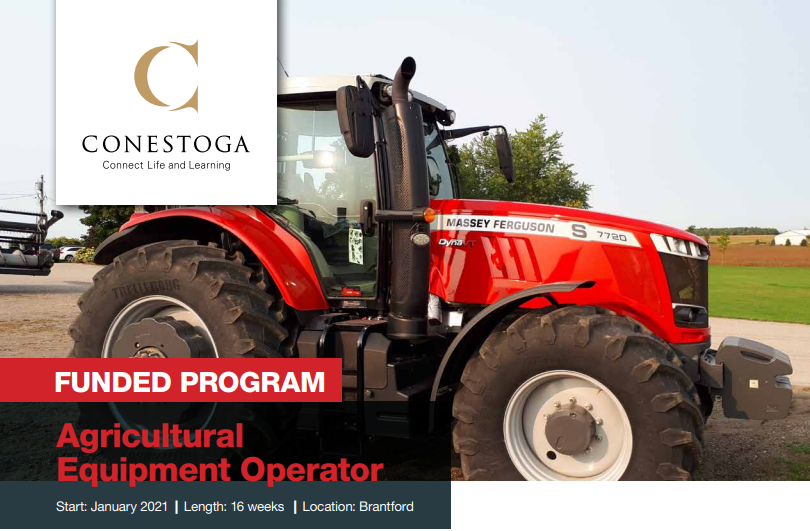 Don't miss out on this information session to learn how to apply for the Winter semester! Share with anyone you think this program would be perfect for🚜