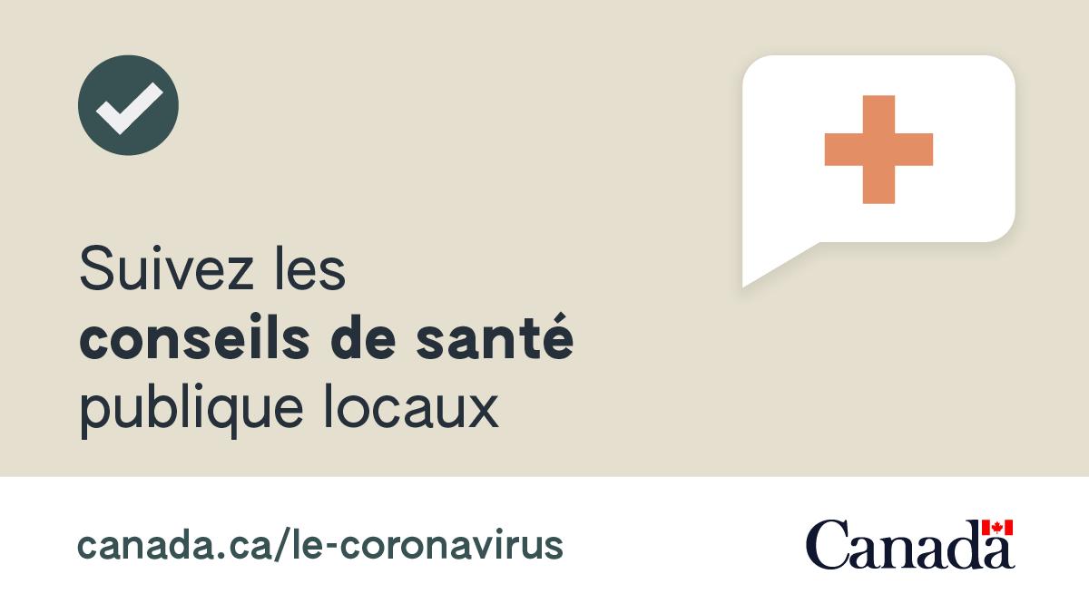 Téléchargez aujourd'hui l'appli Alerte COVID, c'est simple et vous serez alerté(e) si vous avez été en contact avec quelqu'un testé positif(ve) au virus.   C'est un autre outil pour vous garder en sécurité de la COVID-19, et le plus de gens l'utilisent, le mieux cela fonctionne. https://t.co/sjbwkfNxcc