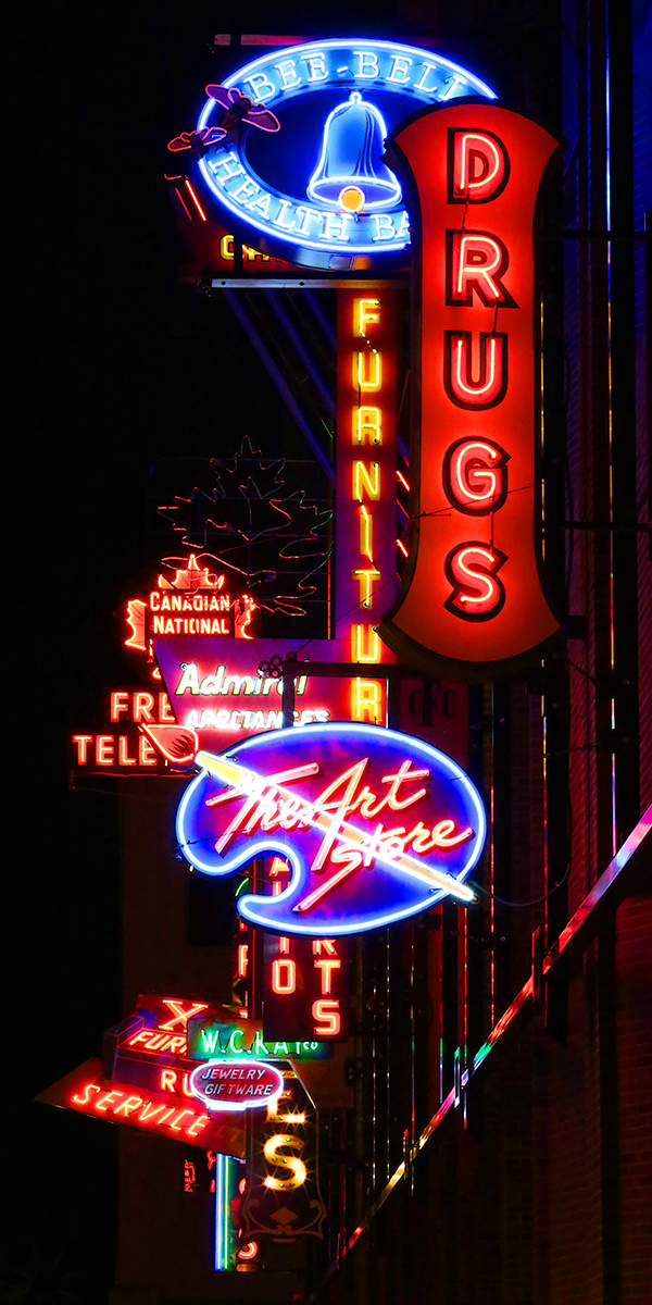 Neon sign art in Edmonton, Alberta. CLICK FOR FULL VIEW. CANADIAN PHOTOGRAPHERS – HELP BUILD A NATIONAL FOREST ART INSTALLATION. VISIT https://t.co/fn3jk2UaN3. #theforestcommonground #photography #cityscapes #photo #art #cityphotography #albertaphotographer https://t.co/2x25wHXlFp