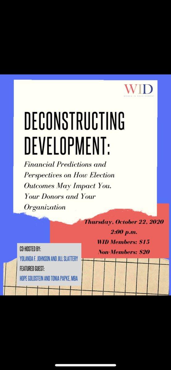 LAST CHANCE: #register for our upcoming #deconstructingdevelopment event happening this #thursday! https://t.co/VVOtp45otD https://t.co/7hAHn4jZHF