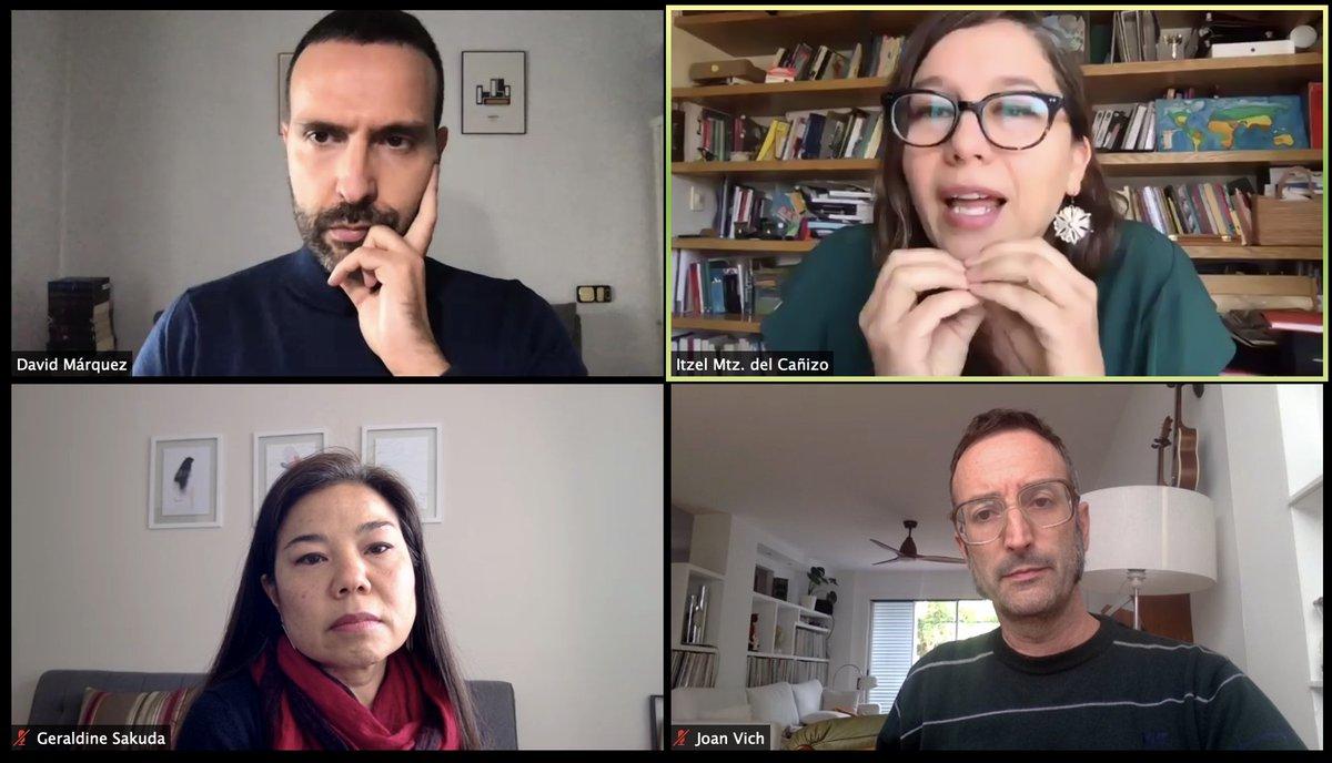 Super interesante la conversación de estos tres proyectos y como han enfrentado la pandemia! Formación de cierre de #innovacultural2019 @FundCajaNavarra @FundlaCaixa