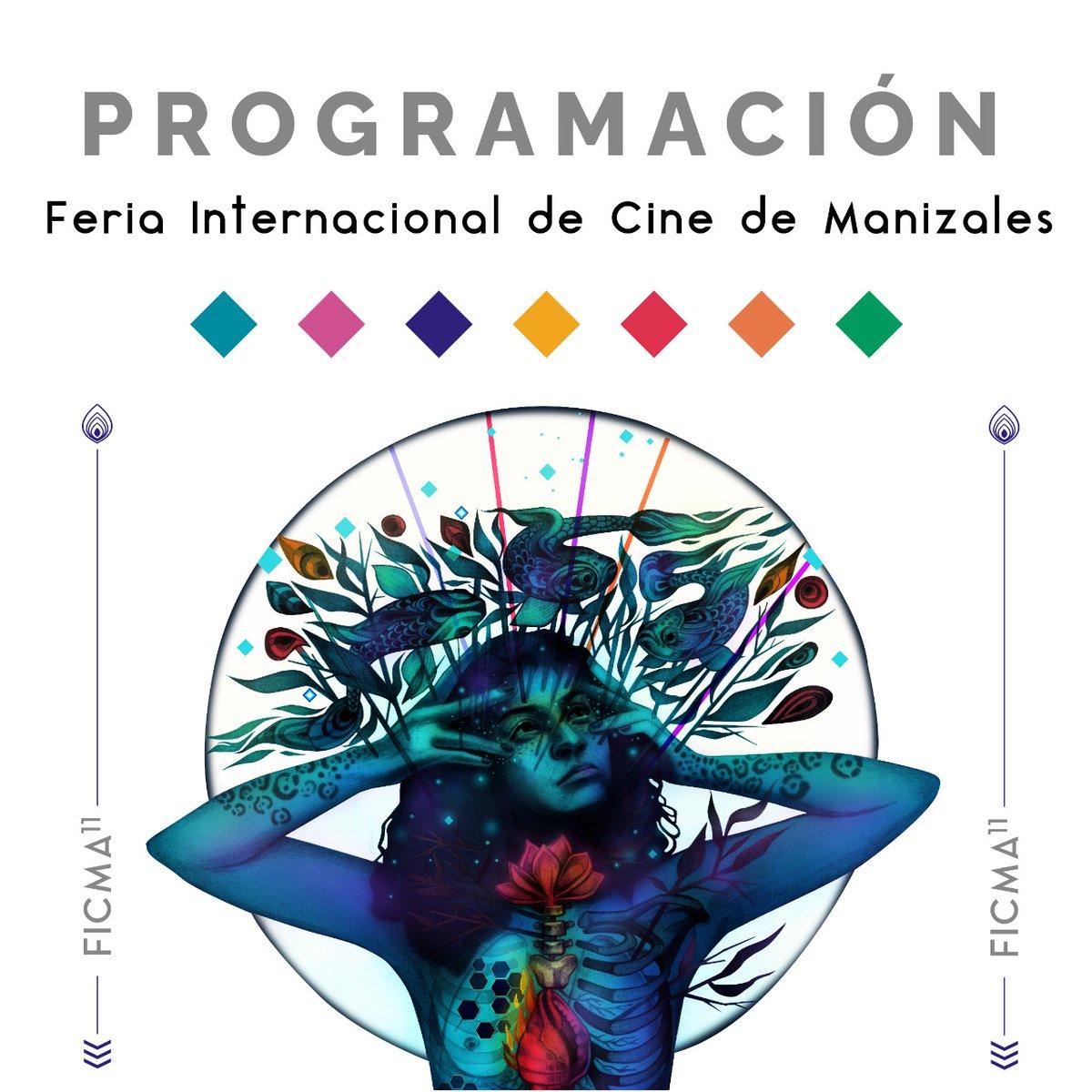 Descarga y prográmate con los estrenos, diálogos y actividades que trae #FICMA11 del 24 al 30 de octubre.  Link de Programación: https://t.co/5lXvYM5DMR https://t.co/ewPh9I6RQ2