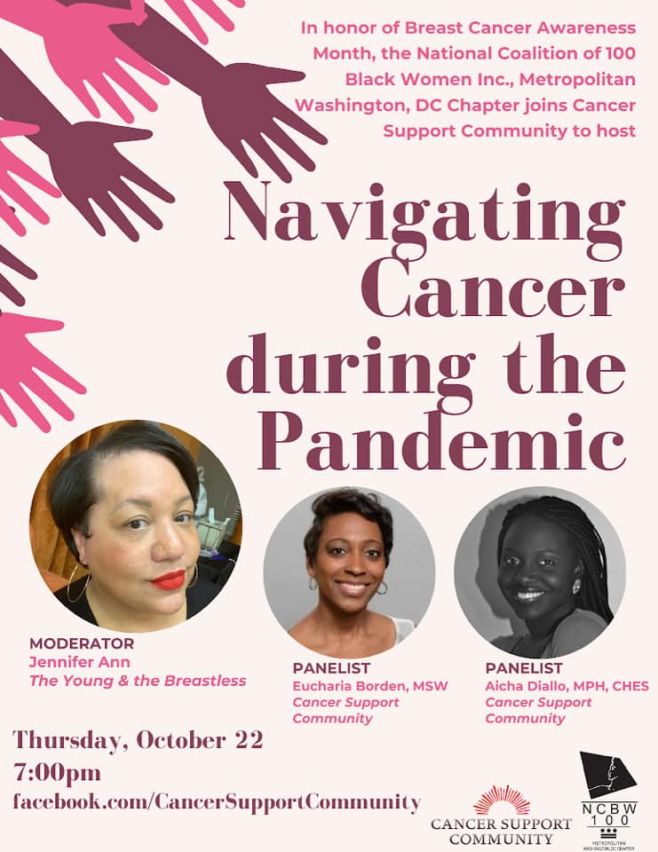 Did you miss the live discussion Navigating Cancer During a Pandemic? Don't worry, you can catch the replay here - https://t.co/UmemlhSMQt