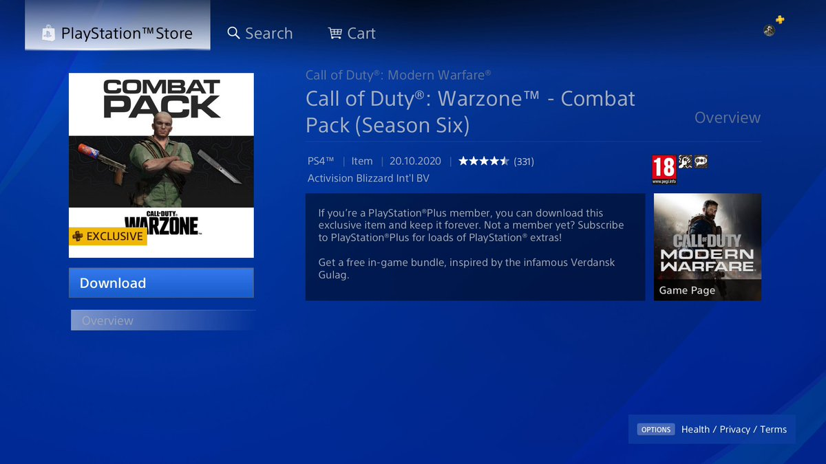 This has been released as well #ModernWarfare #Warzone https://t.co/Q95TRvDVjK