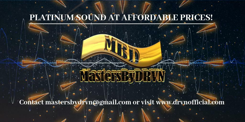 ~GET PLATINUM SOUNDS with MastersByDRVN!~ -Professional & Affordable! -2 to 3 day turn around -Promo & Release ready -High Quality WAV & MP3 file -And more! Contact me today! https://t.co/E9BPjUXLNI #AudioEngineer #MixAndMastering #MusicProducer #MastersByDRVN https://t.co/2x3GRBoRoJ